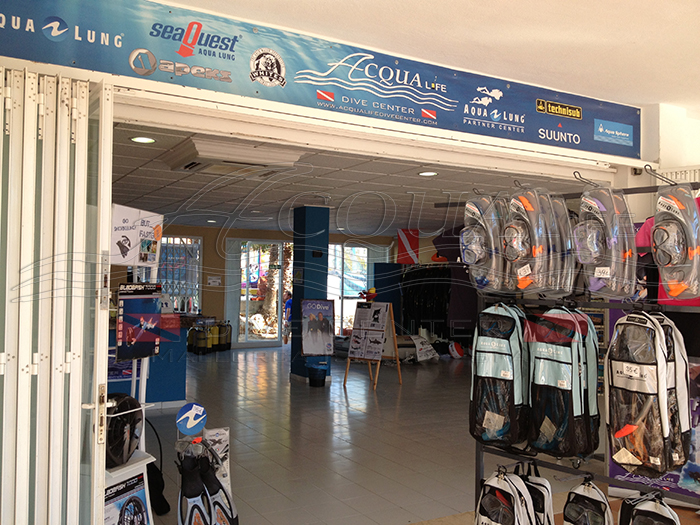 Dive School and Dive shop in Cales de Mallorca